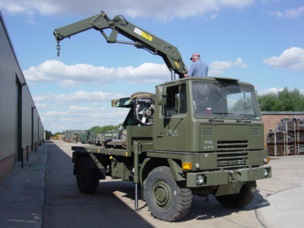 11526 - Bedford TM 4x4 Cargo with Atlas Crane