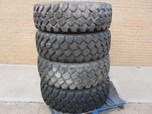 Unused Michelin 395/85R20 tyres