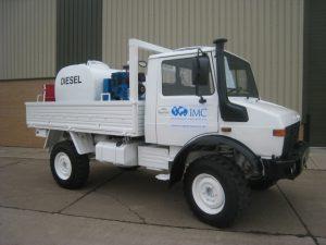 Mercedes Unimog U1300L 4×4 Service Truck