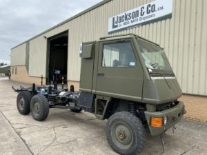 Mowag Duro II Chassis Cab (Project Vehicle)